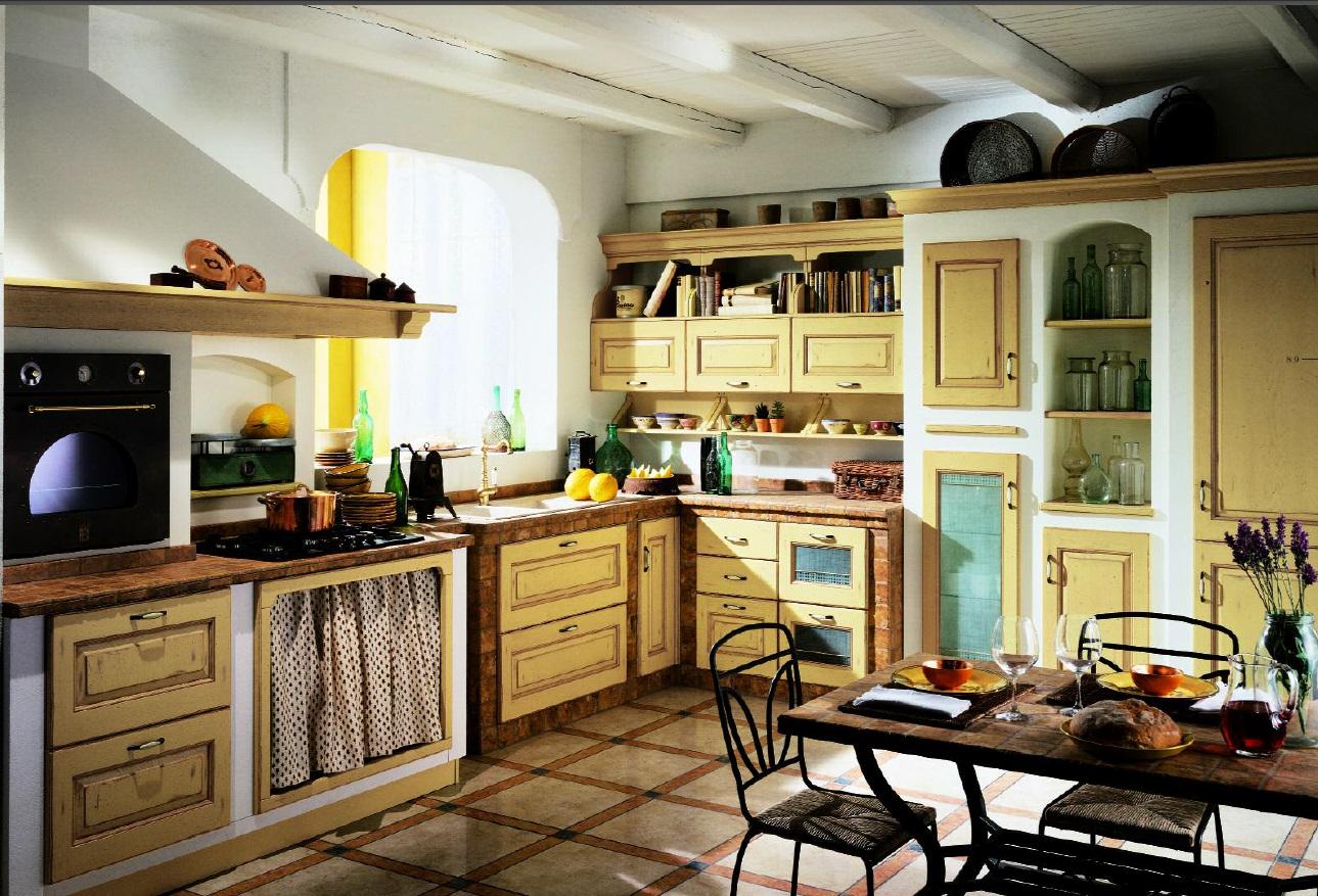 Кухня прованс своими руками фото